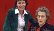 Terry Bradley with Temple Grandin