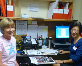 College Career Center Volunteers